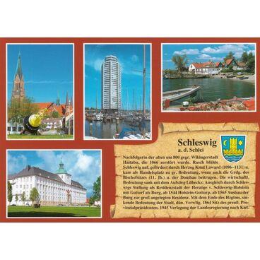 Schleswig a.d. Schlei - Chronikkarte