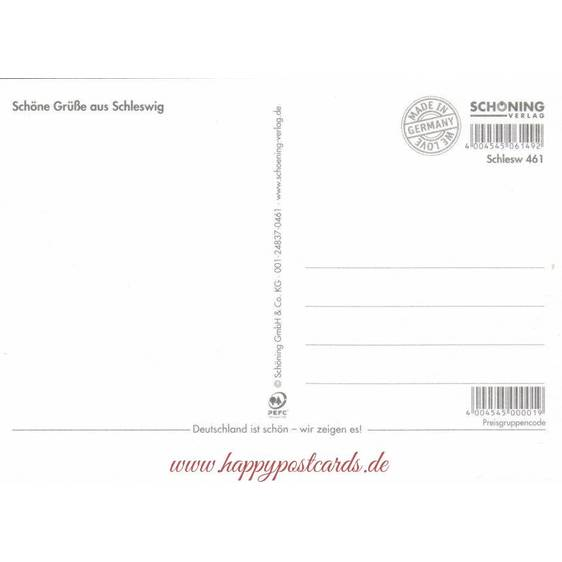 Schleswig a.d. Schlei - Chronicle - Viewcard