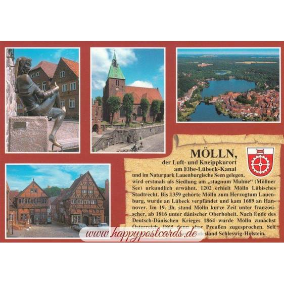 Mölln - Chronicle - Viewcard
