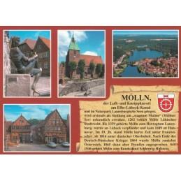 Mölln - Chronikkarte