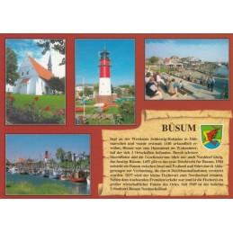 Büsum - Chronicle - Viewcard