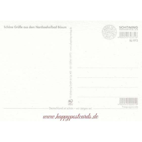 Büsum - Chronicle - Viewcard