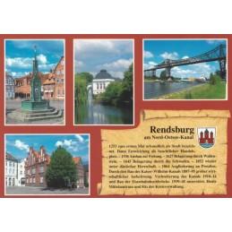 Rendsburg - Chronicle - Viewcard