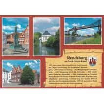 Rendsburg - Chronikkarte