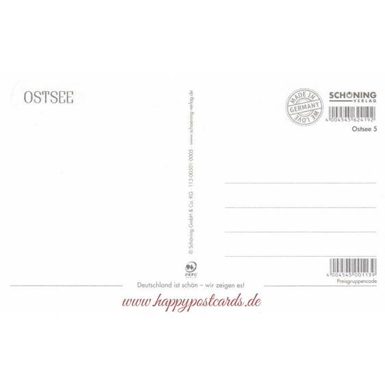 Baltic Sea - HotSpot-Card