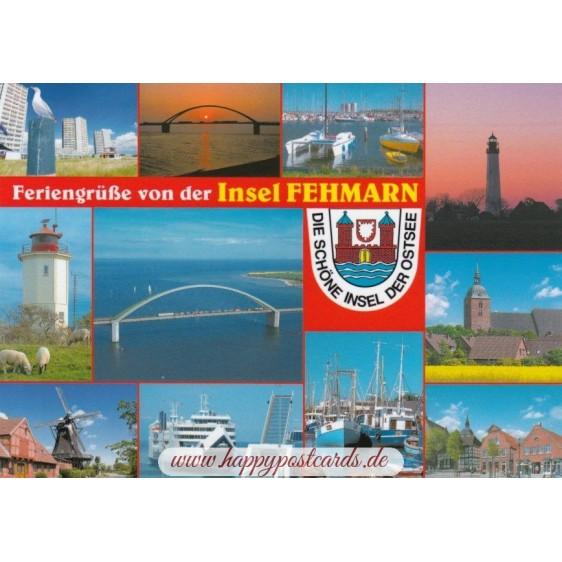 Fehmarn - Feriengrüße - Ansichtskarte