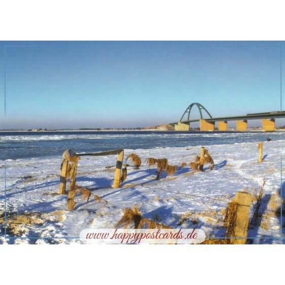 Fehmarn - Fehmarnsundbrücke 1 - Ansichtskarte