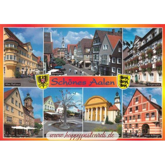 Aalen 2 - Ansichtskarte