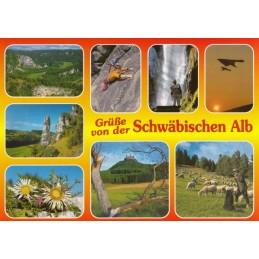 Schwäbische Alb 1 - Ansichtskarte