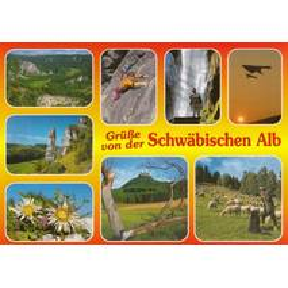Swabian Alb 1 - Viewcard
