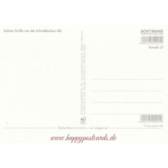 Schwäbische Alb 2 - Ansichtskarte