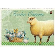 Happy Easter - Lamb - Tausendschön - Postcard