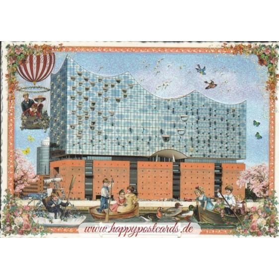 Hamburg - Elbphilarmonie - Tausendschön - Postcard