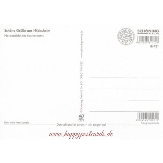 Hildesheim Mariendom - Viewcard