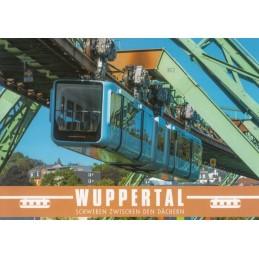 Wuppertal Suspension Railway 2 - Viewcard