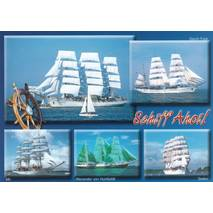 Sailing ships - Viewcard