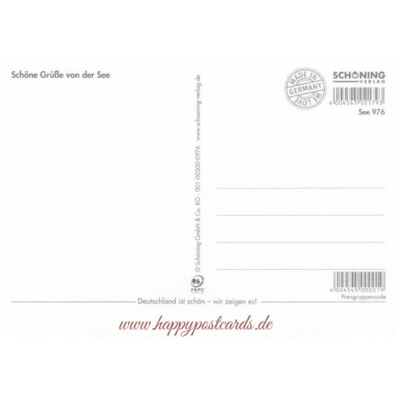 Sailing ships - Viewcard