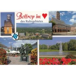 Bottrop heart- Viewcard