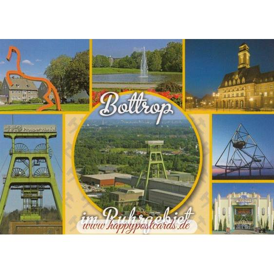 Bottrop 2 - Viewcard