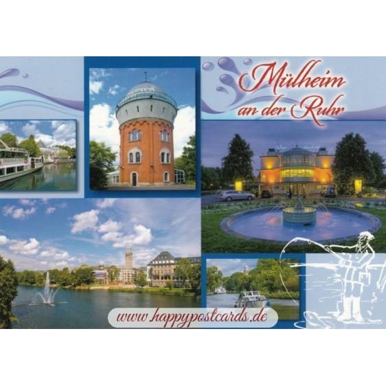 Mühlheim an der Ruhr - Viewcard