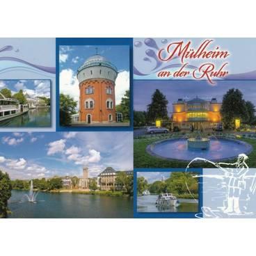 Mühlheim an der Ruhr - Ansichtskarte
