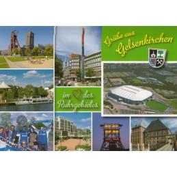 Gelsenkirchen - Stadion - Ansichtskarte