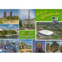 Gelsenkirchen - Stadion - Viewcard