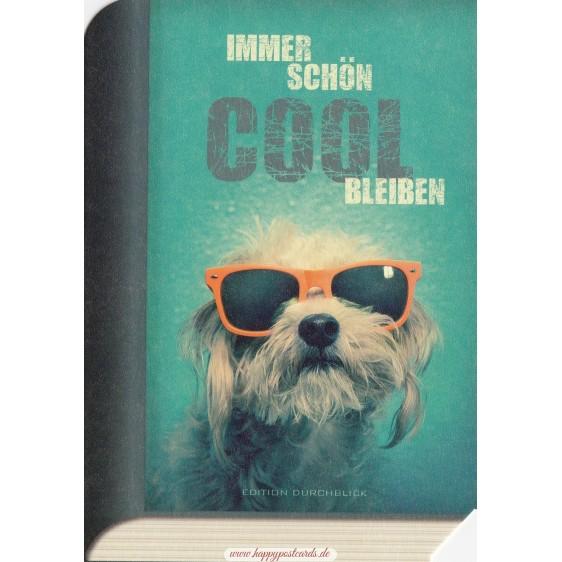 Cooler Hund - BookCARD