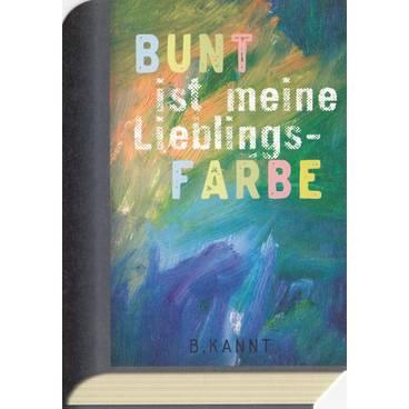Bunt ist meine Lieblingsfarbe - BookCARD