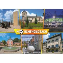 Mönchengladbach - Stadion - Ansichtskarte