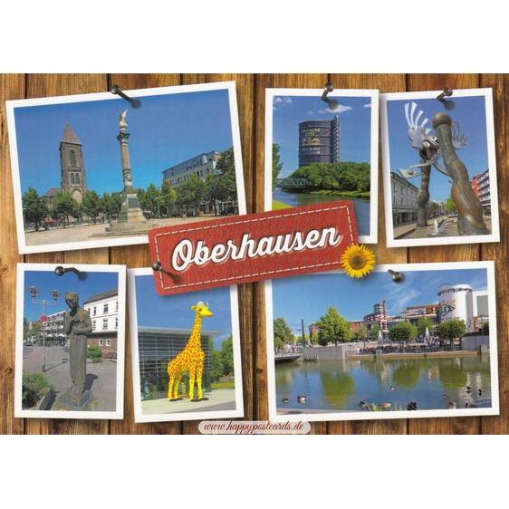 Oberhausen - Ansichtskarte