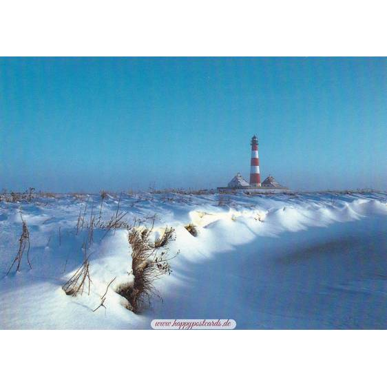St. Peter Ording - Westhever lighthouse - Viewcard