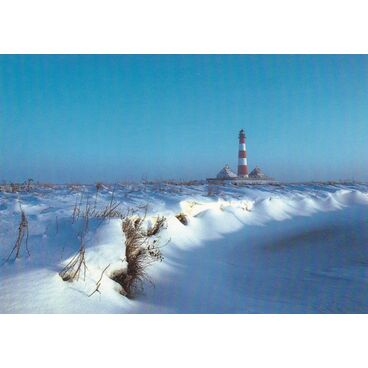 St. Peter-Ording - Westhever Leuchtturm - Ansichtskarte