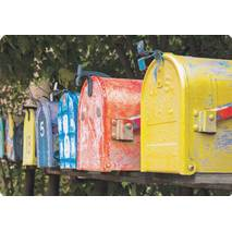 Mailboxes - Medley postcard