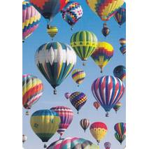 Hot-air balloon - Medley postcard
