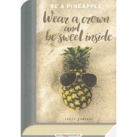 Pineapple - BookCARD