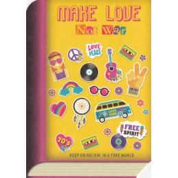 Make love not war - BookCARD
