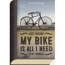 Riding my bike - BookCARD