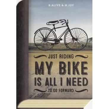 Riding my bike - BookCARD