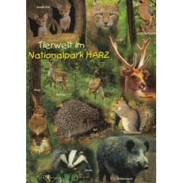 Harz - Animals - Viewcard