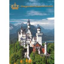 Königsschloss Neuschwanstein - Ansichtskarte