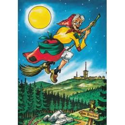 Harz - Hexe - Ansichtskarte