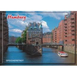 Hamburg - Speicherstadt 3 - Viewcard