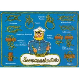 Seemannsknoten - Postkarte