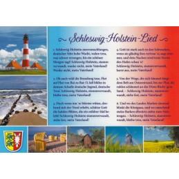 Schleswig-Holstein-Lied - Postkarte