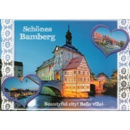 Schönes Bamberg - Ansichtskarte