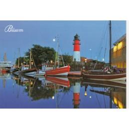 Büsum Hafen - Ansichtskarte
