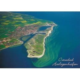 Ostseebad Heiligenhafen - Airview - Viewcard