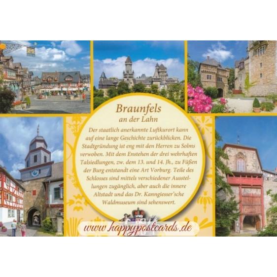 Braunfels - Yellow Chronicle - Viewcard
