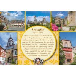 Braunfels - gelbe Chronikkarte